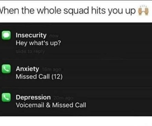 anxiety, depression, and insecurity image