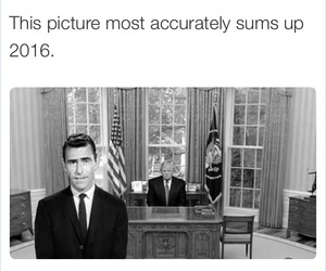 2016, funny, and the twilight zone image