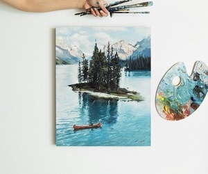 art, paint, and drawing image