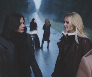 once upon a time, swanqueen, and lana parrilla image