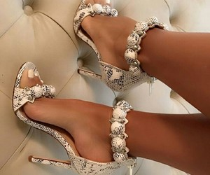fashionable, shoes, and glamour image
