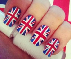 art, nails, and uk style image