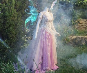 dress, fairy, and fantasy image