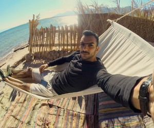 camp, simply, and hammock image