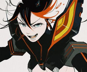 anime, ryuko matoi, and senketsu image