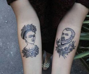 art, tattoo, and van gogh image