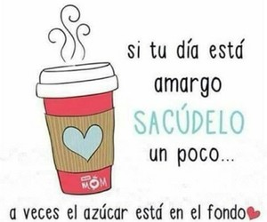 frases, cafe, and sugar image