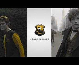 harry potter, hufflepuff, and video image
