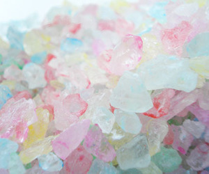 pastel, crystal, and candy image