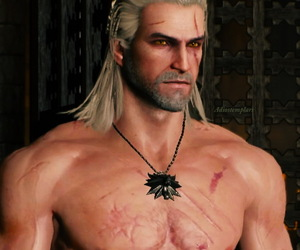 gamer, videogames, and the witcher image