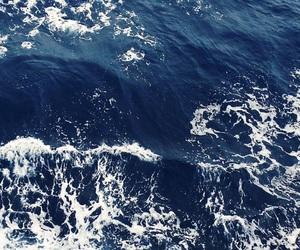 beautiful, blue, and blue sea image