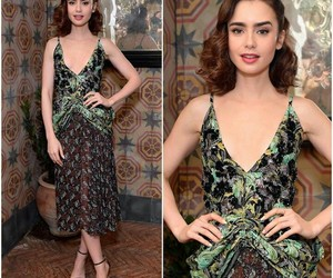 lily collins, beautiful, and event image