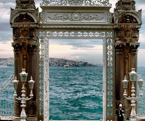 istanbul, travel, and sea image