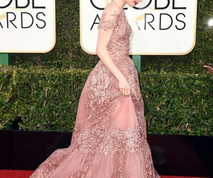 lily collins, fashion, and golden globes image