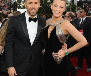 ryan reynolds, blake lively, and golden globes image
