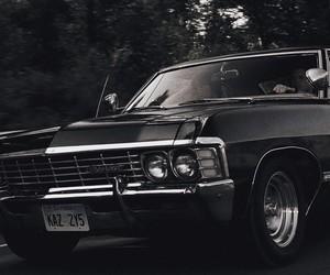 supernatural, impala, and car image