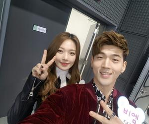 bm, somin, and kpop image