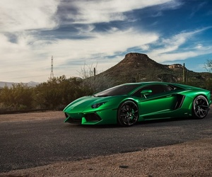cars, rich, and green image