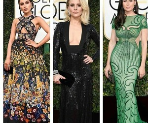 fashion, 2017, and goldenglobes image