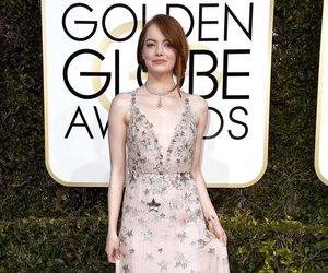 emma stone, golden globes, and actress image