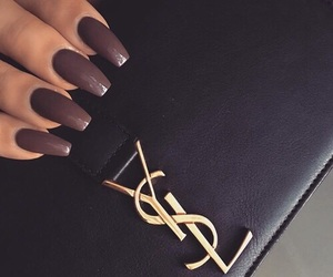 nails, YSL, and beauty image