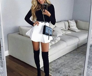 boots, fashion, and girls image