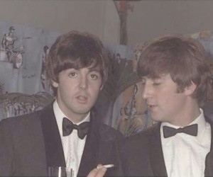 lennon, paul, and mccartney image