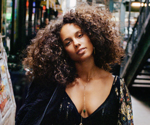 alicia keys and beautiful image