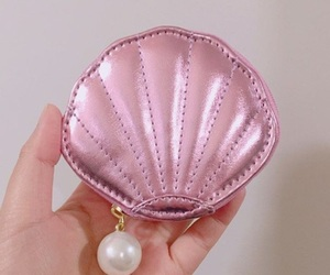 pink, pearl, and shell image