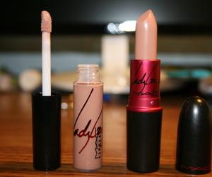 lipstick, mac, and Lady gaga image