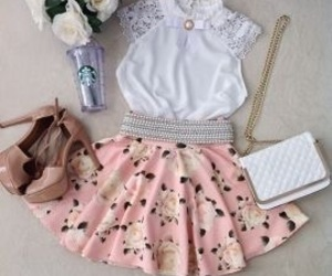 clothes, starbucks, and tumblr image