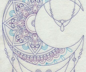 tattoo, drawing, and mandala image