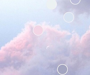 blue, pink, and 💞 image