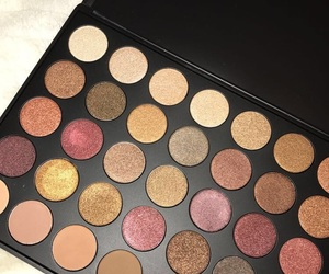 brown, cool, and eyeshadow image