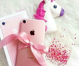 apple, bow, and case image