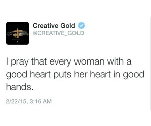 quote, woman, and heart image