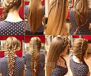 hair and french braid image