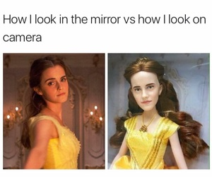 funny, belle, and humor image