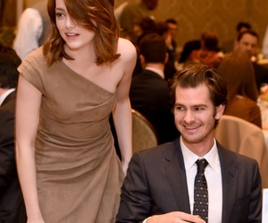 celebrity, emma stone, and andrew garfield image