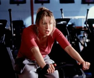 bridget jones, gym, and movie image