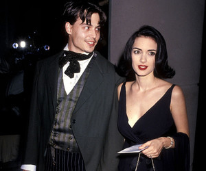 johnny depp, 90s, and winona ryder image