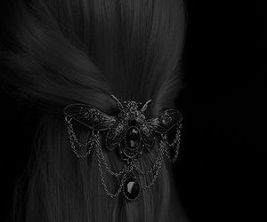 hair, jewelry, and steampunk image