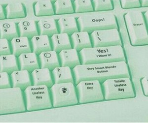 pink, keyboard, and funny image