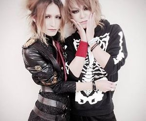 visual kei, diaura, and shoya image