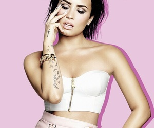 background, demi lovato, and pastel image