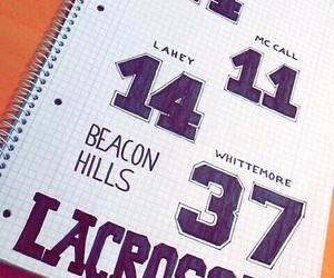 lacrosse, teen wolf, and stilinski image