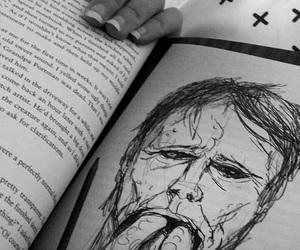 books, creepy, and home image