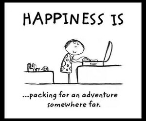 adventures, goal, and happiness image