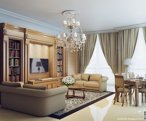 classic style, 3d render visualization, and 3d visualization image