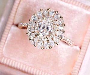 fashion, ring, and diamond image